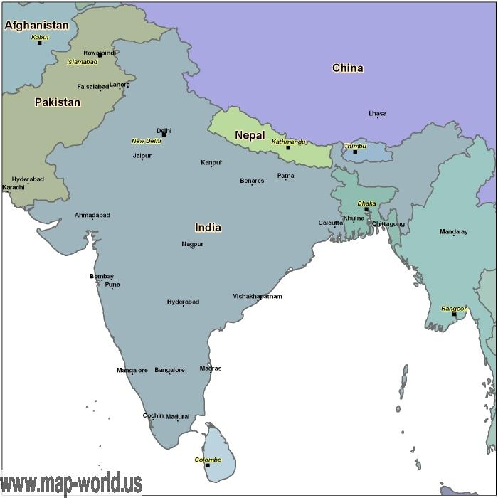 Map of india india map world map map of india india map gumiabroncs Choice Image